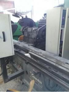نمای دستگاه سنگ cnc
